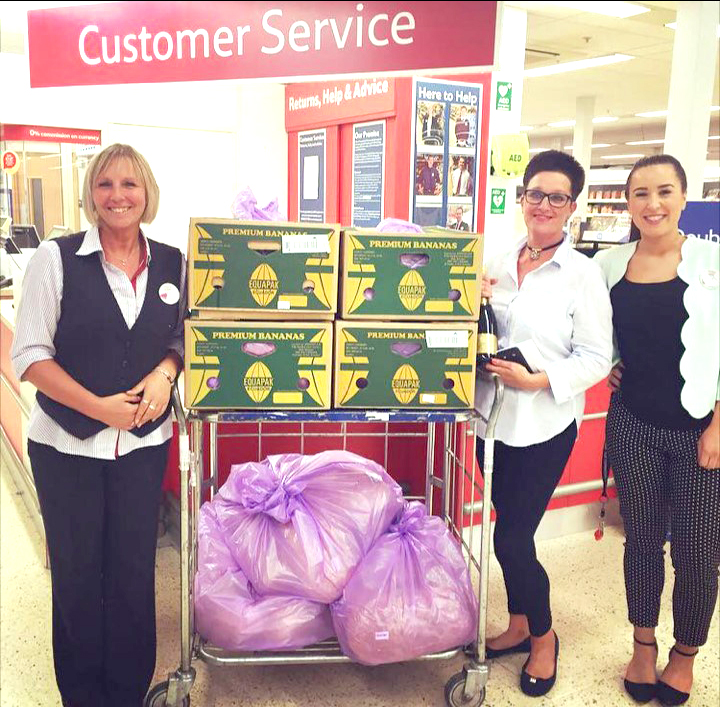 Three Charities Receive Tesco's Surplus Food