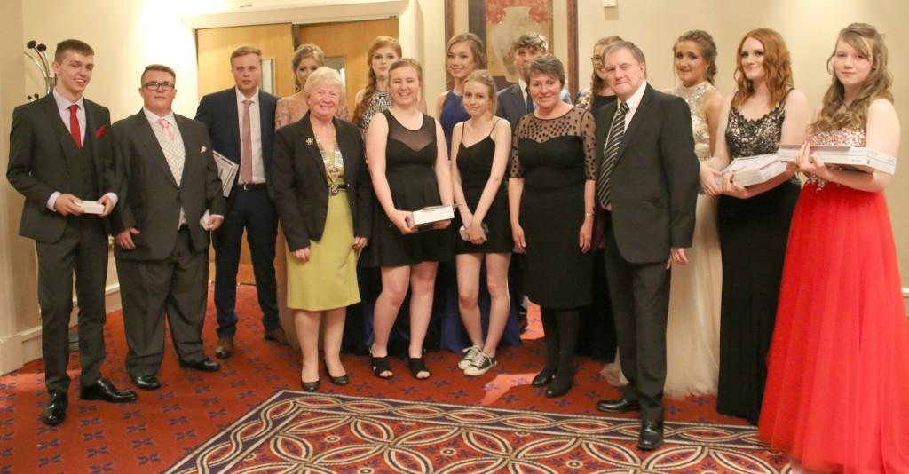 Woodham Prom Prizewinners
