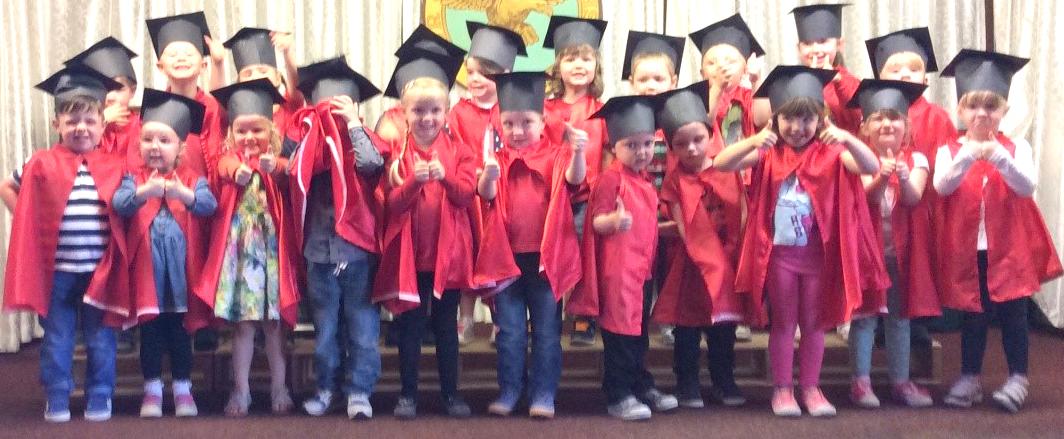 Playday Nursery Graduation