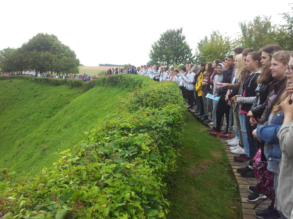 Students in International Somme Commemoration