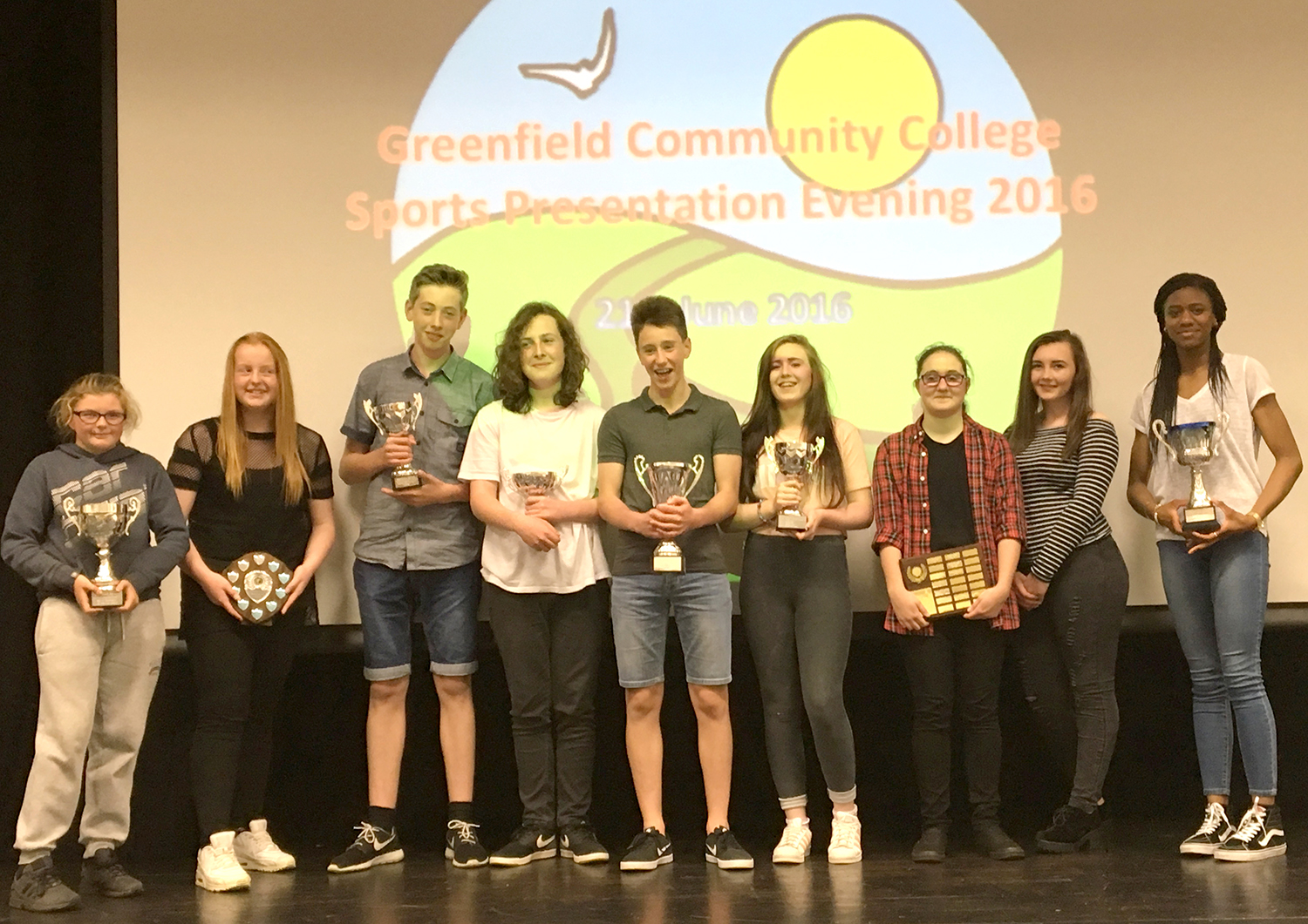 Sports Awards at Greenfield Community College
