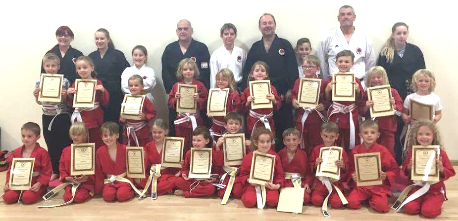 Karate Kids Make the Grade