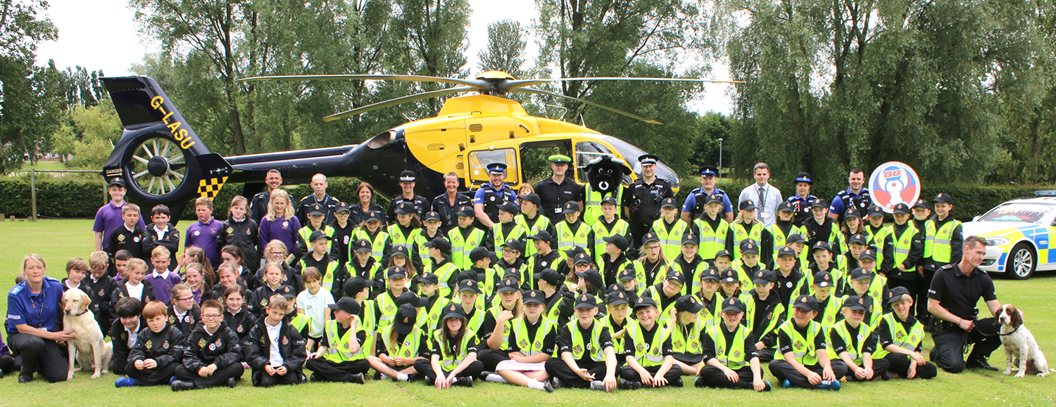 Aycliffe Mini Cops Launched – 750 Recruits