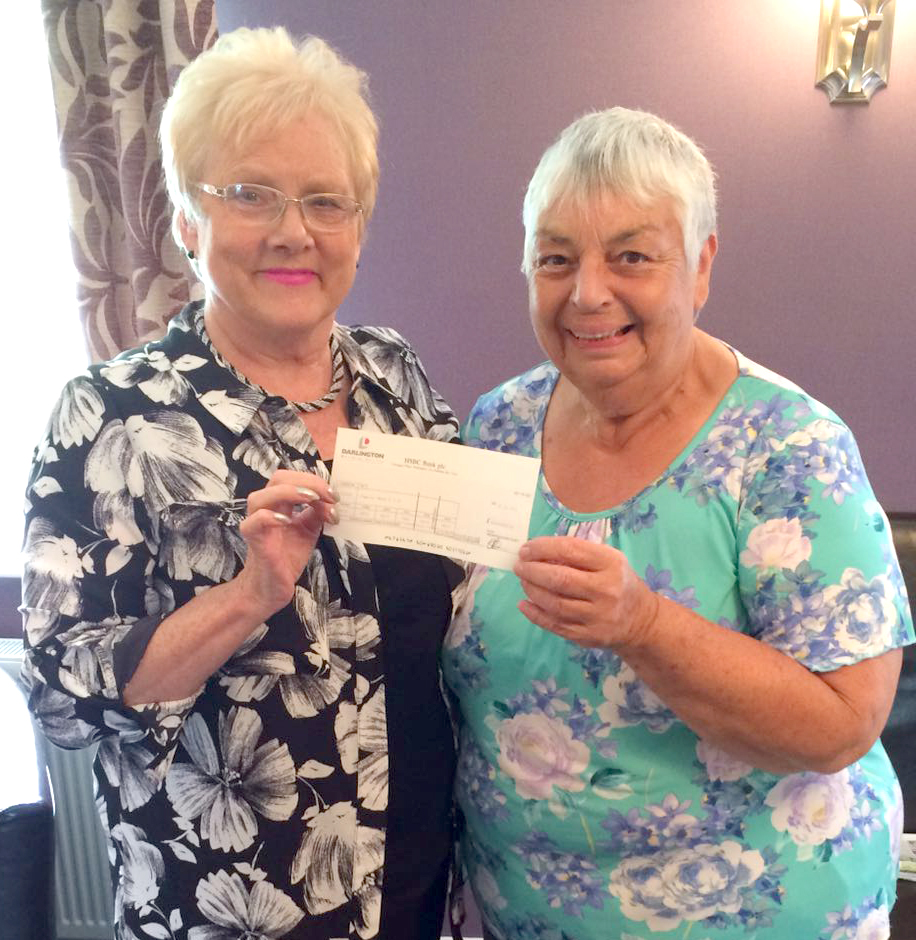 Aycliffe Crafters Help Women's Refuge