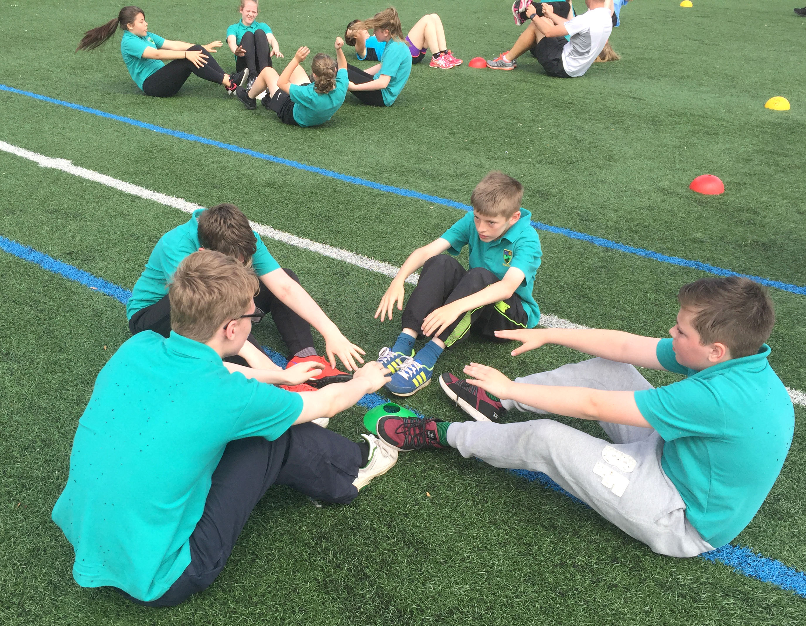 Students Tackle Charity Boot Camp