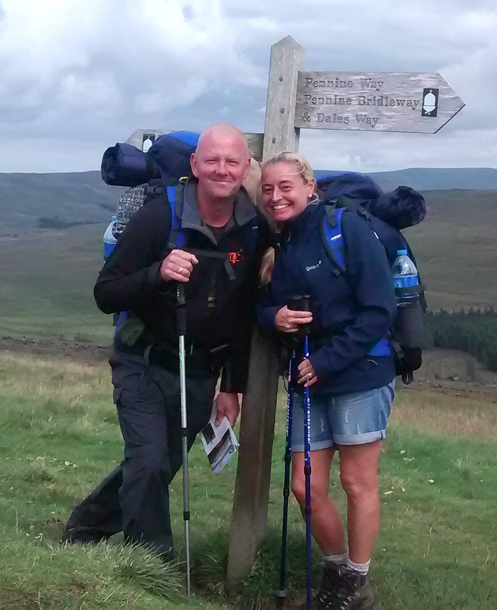 Aycliffe Couple Walk 80 Miles to Help Air Ambulance