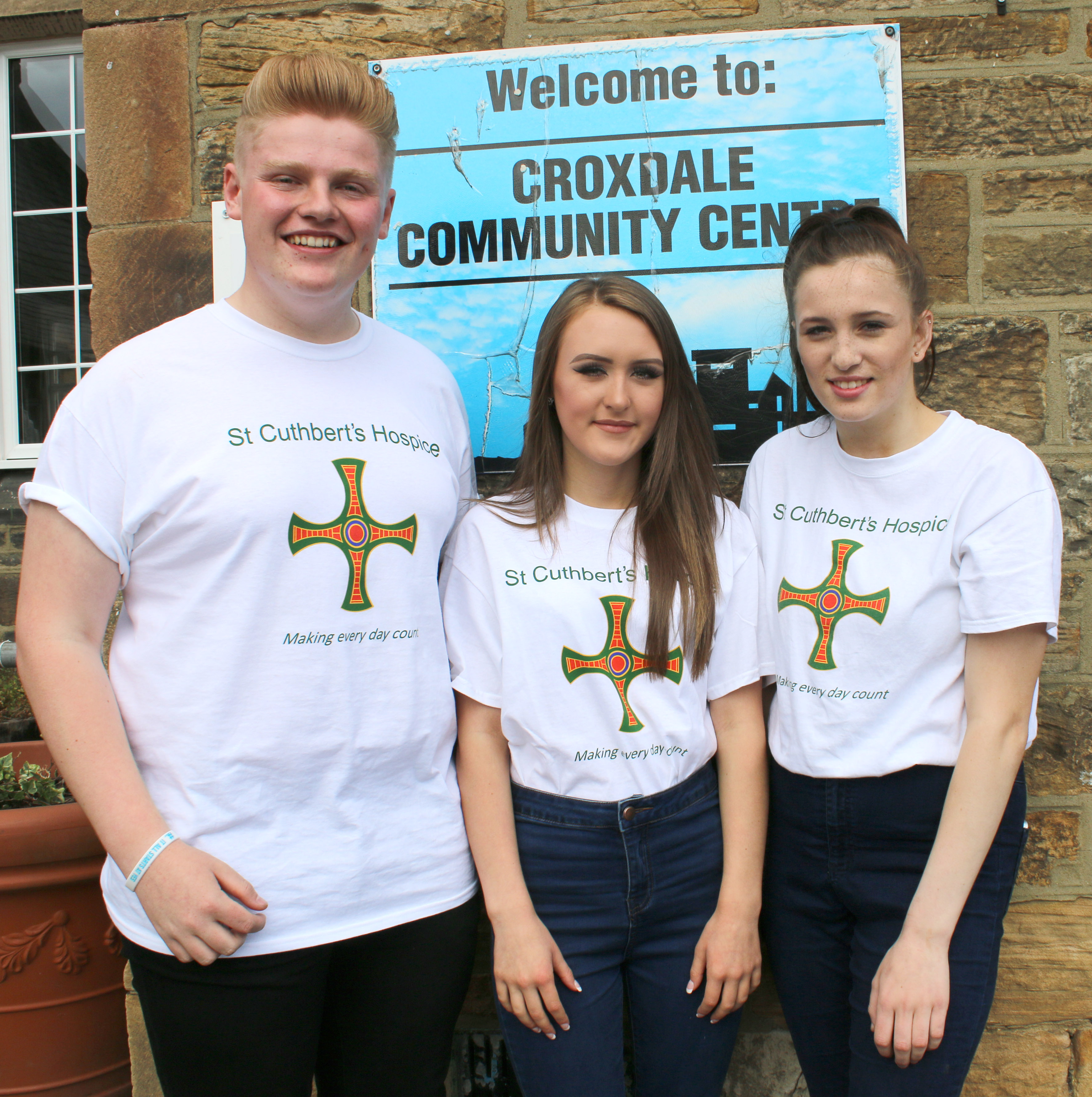Young People Help Local Hospice