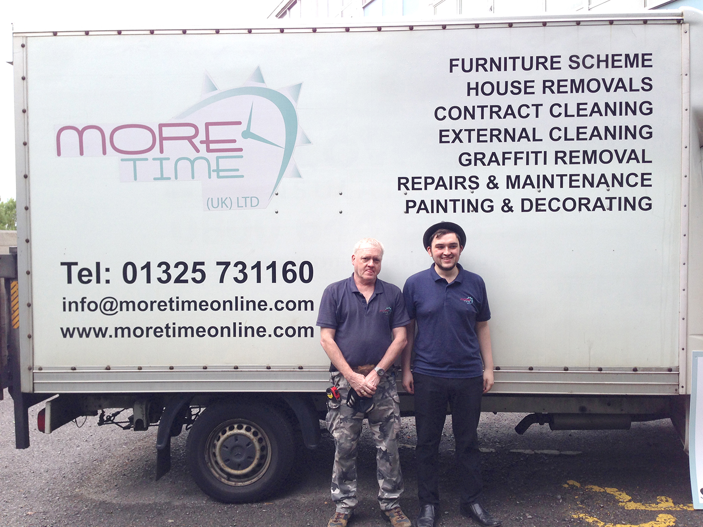 Father & Son Team up at Town's Furniture Scheme