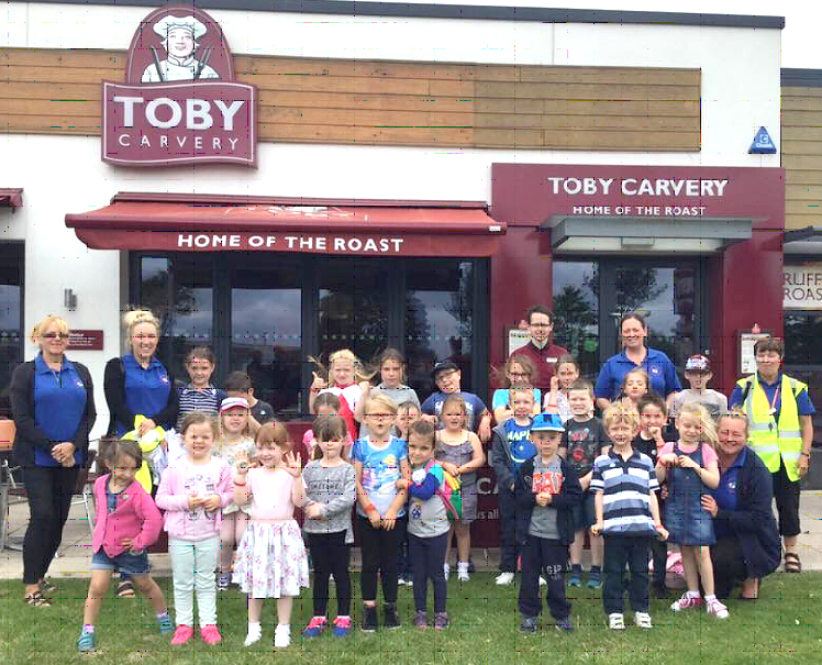 School Club's Fun Visit to Toby Carvery