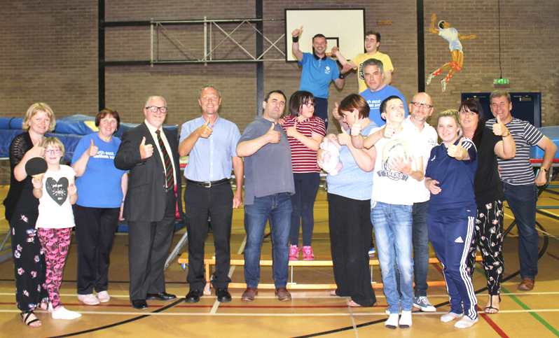 Young People at Aycliffe Autism Centre Jump for Joy