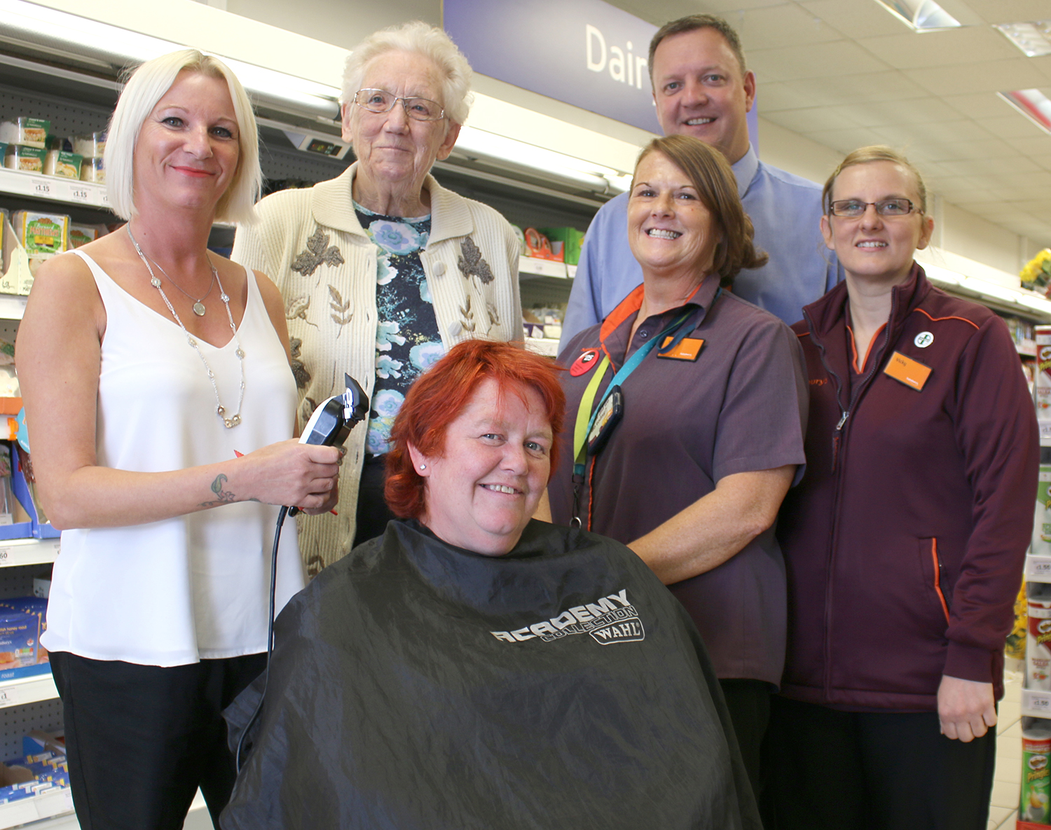 Head Shave to Help Town Youth Group