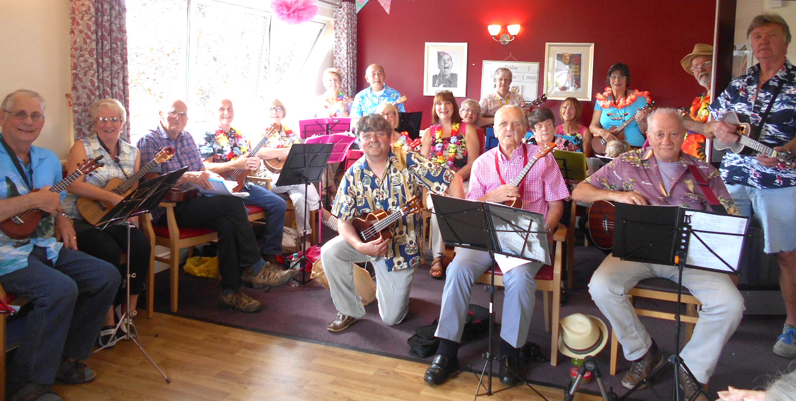 Entertainment for Care Home