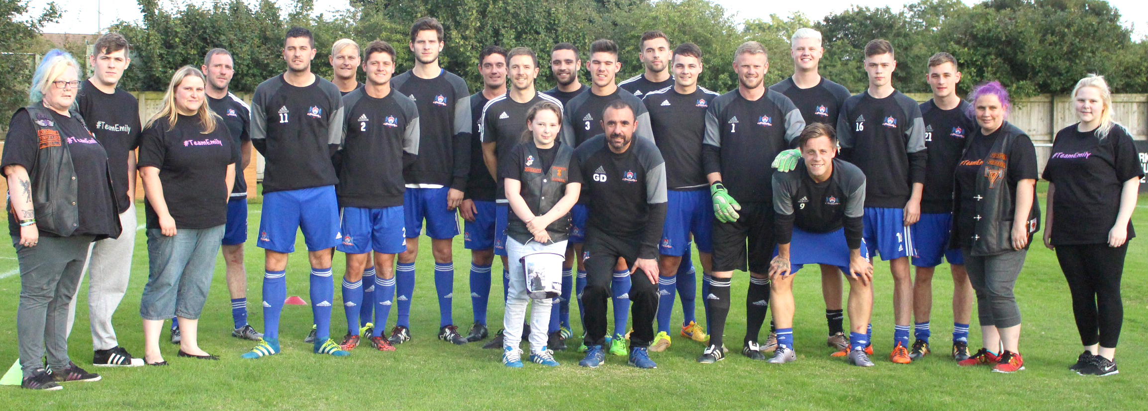 "Newton Aycliffe F.C. Help ""Team Emily"""