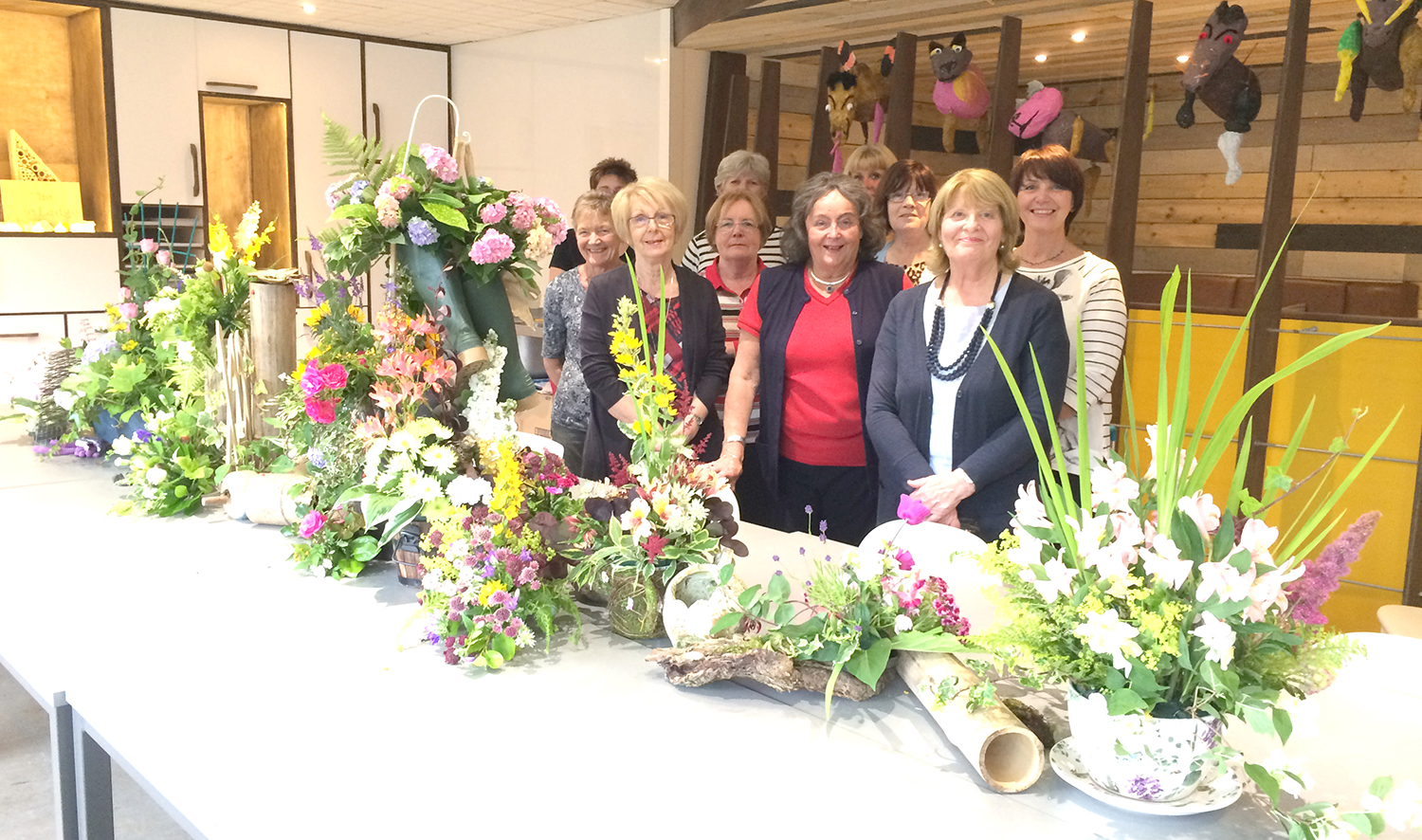 Floral Art Blossoms at Greenfield Arts
