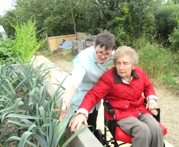 Ready, Set, Grow for Care Home Residents