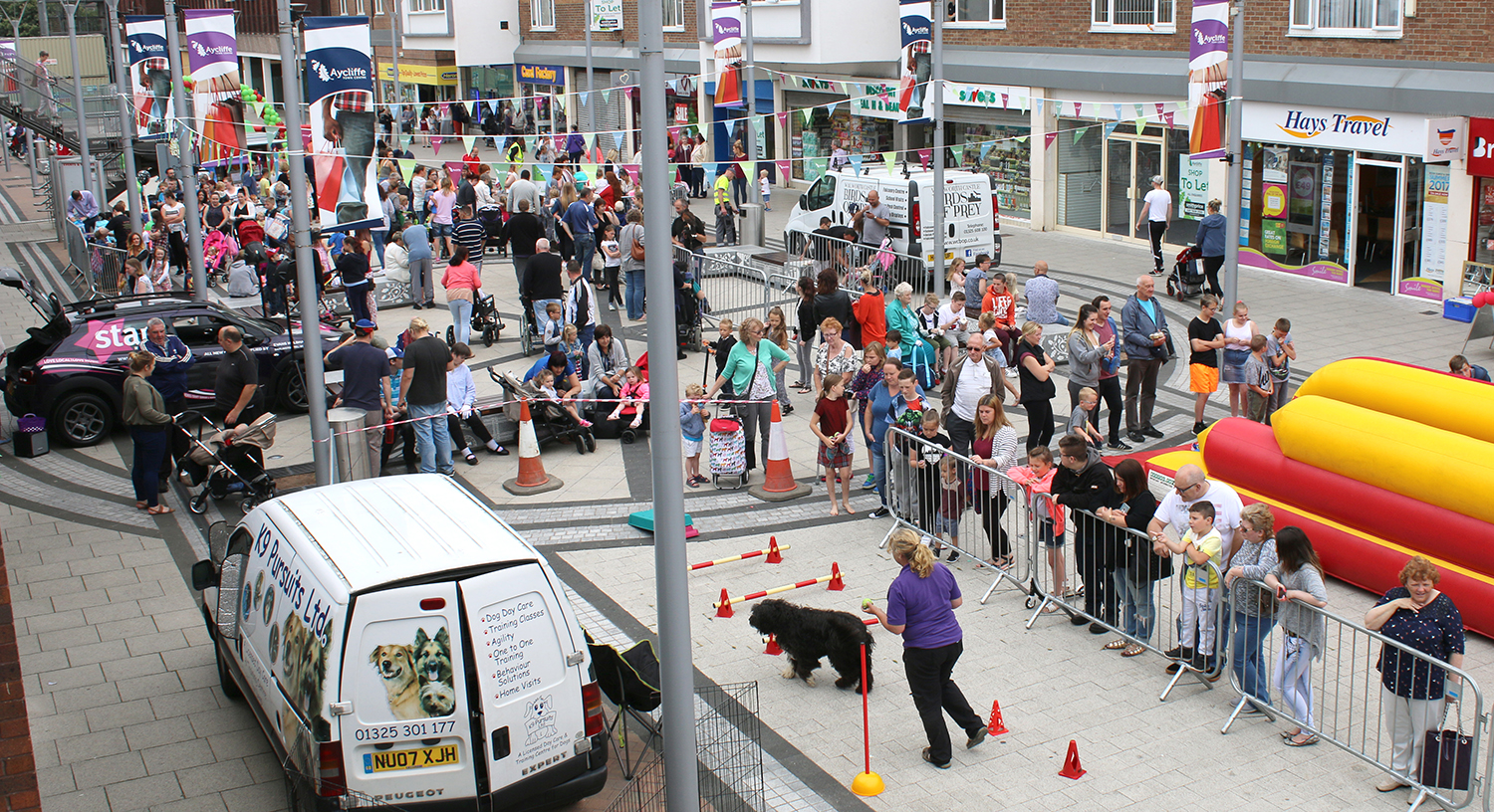 Animal Theme Fun Day in Town Centre
