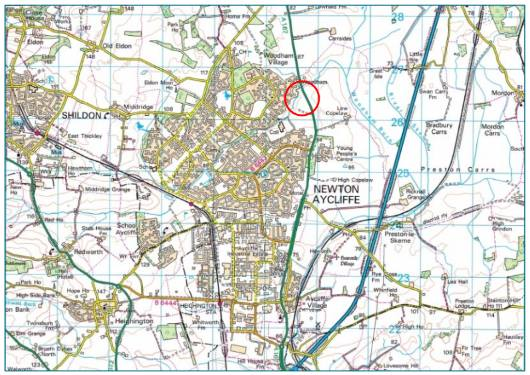 Housing Application for 450 Homes Wants Access off A167