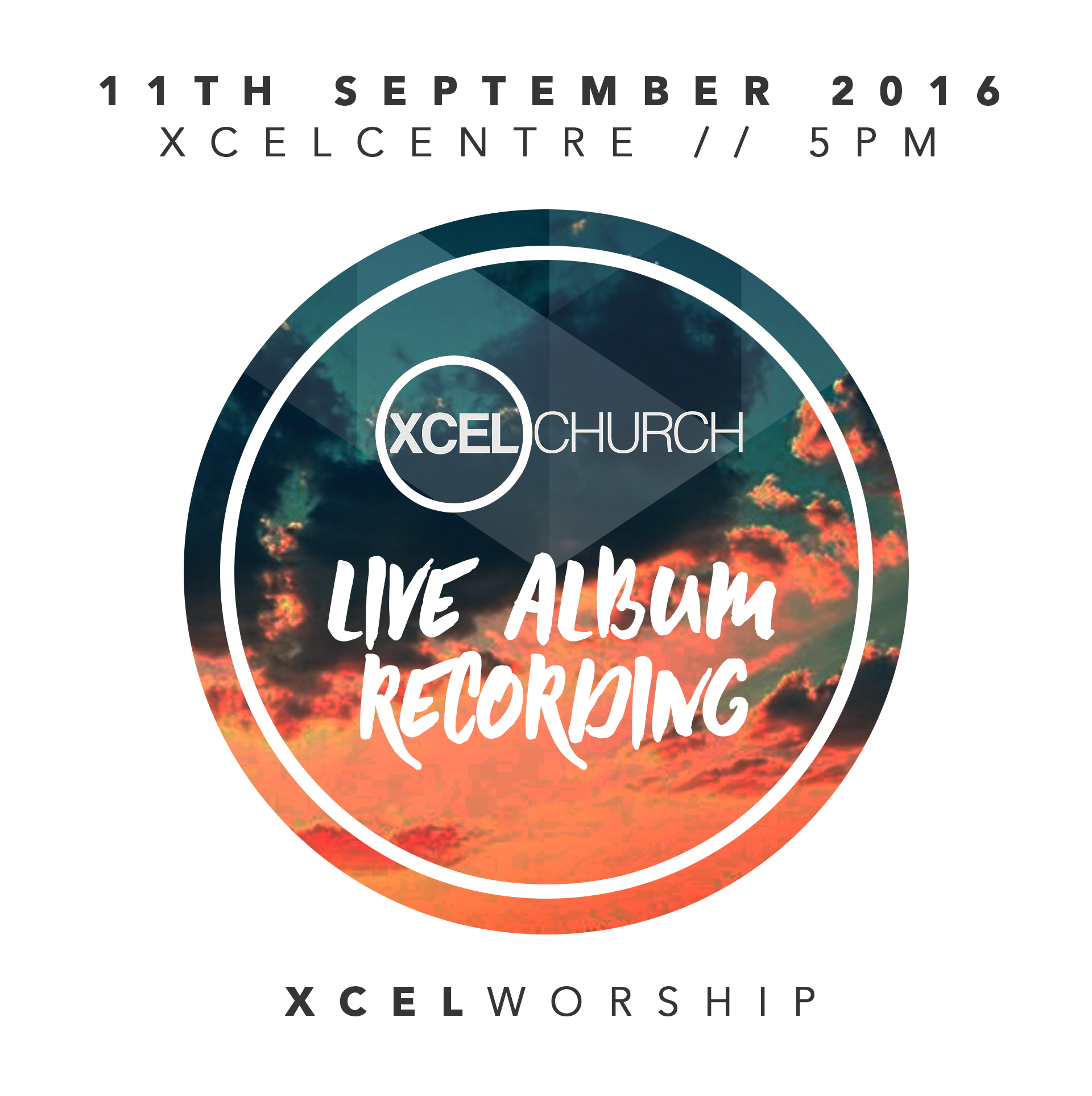 Live Worship Album Recording @ XCEL Church