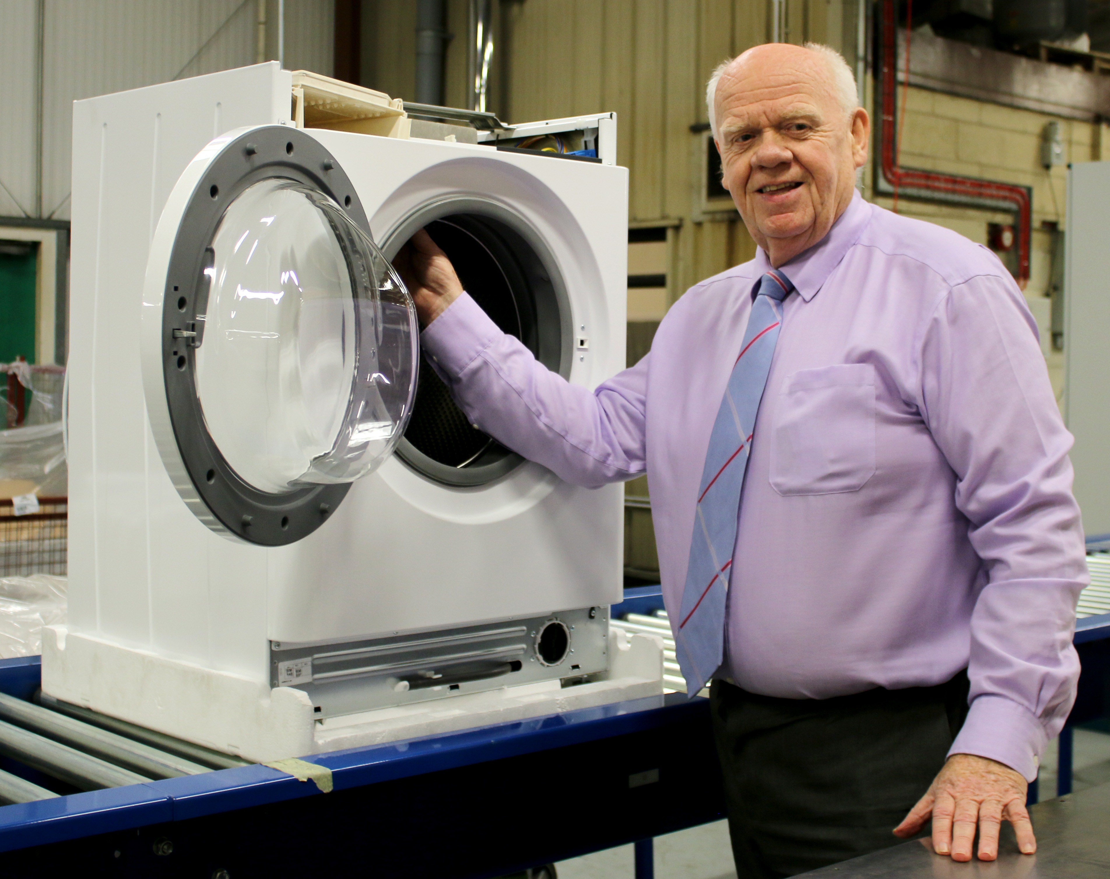 Ebac's Washing Machines Now in Full Production