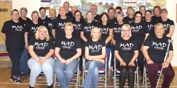 Aycliffe's MAD Choir in Concert at Xcel