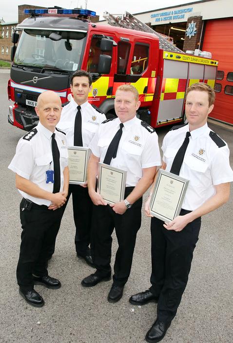 Heighington Firefighter Receives an Award