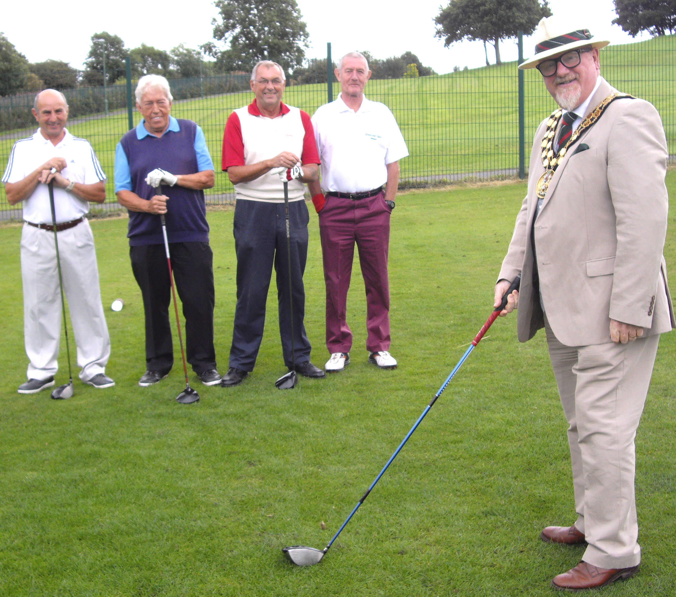 Great Aycliffe Mayor's Charity Golf Tournament