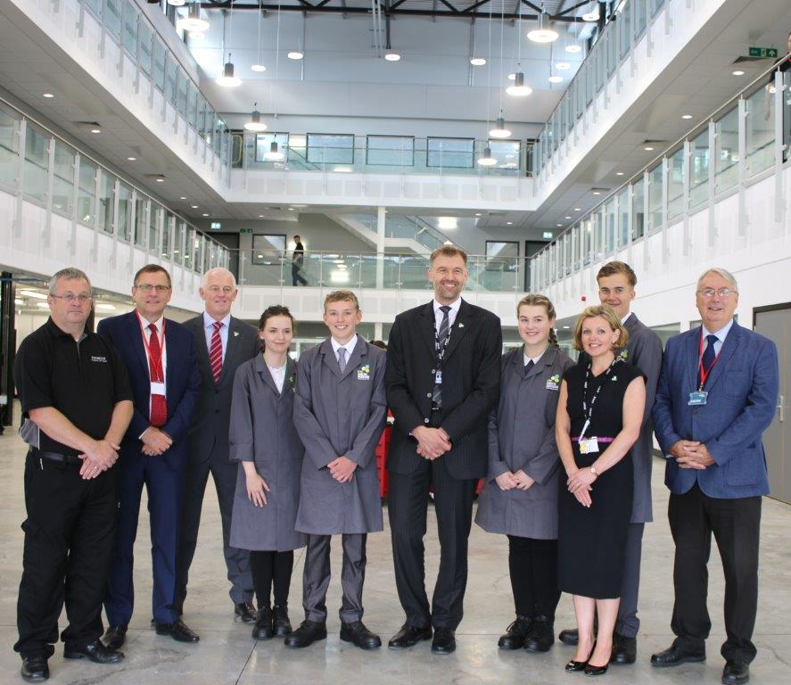 Aycliffe UTC Open for Business
