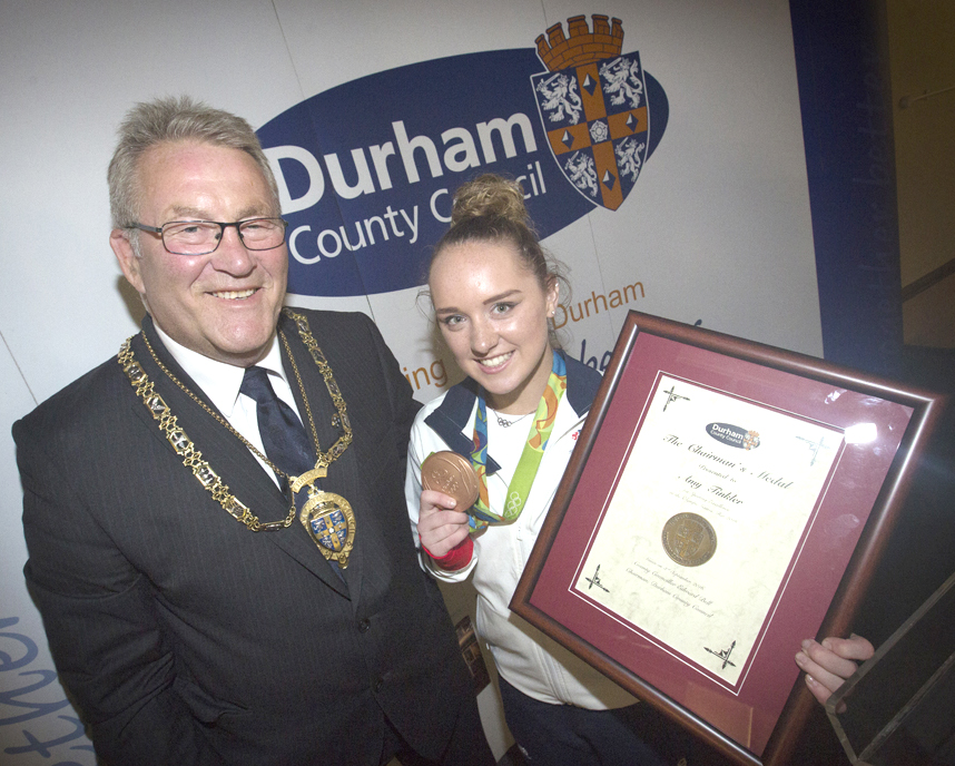 Olympic Bronze Medallist Receives Chairman's Award