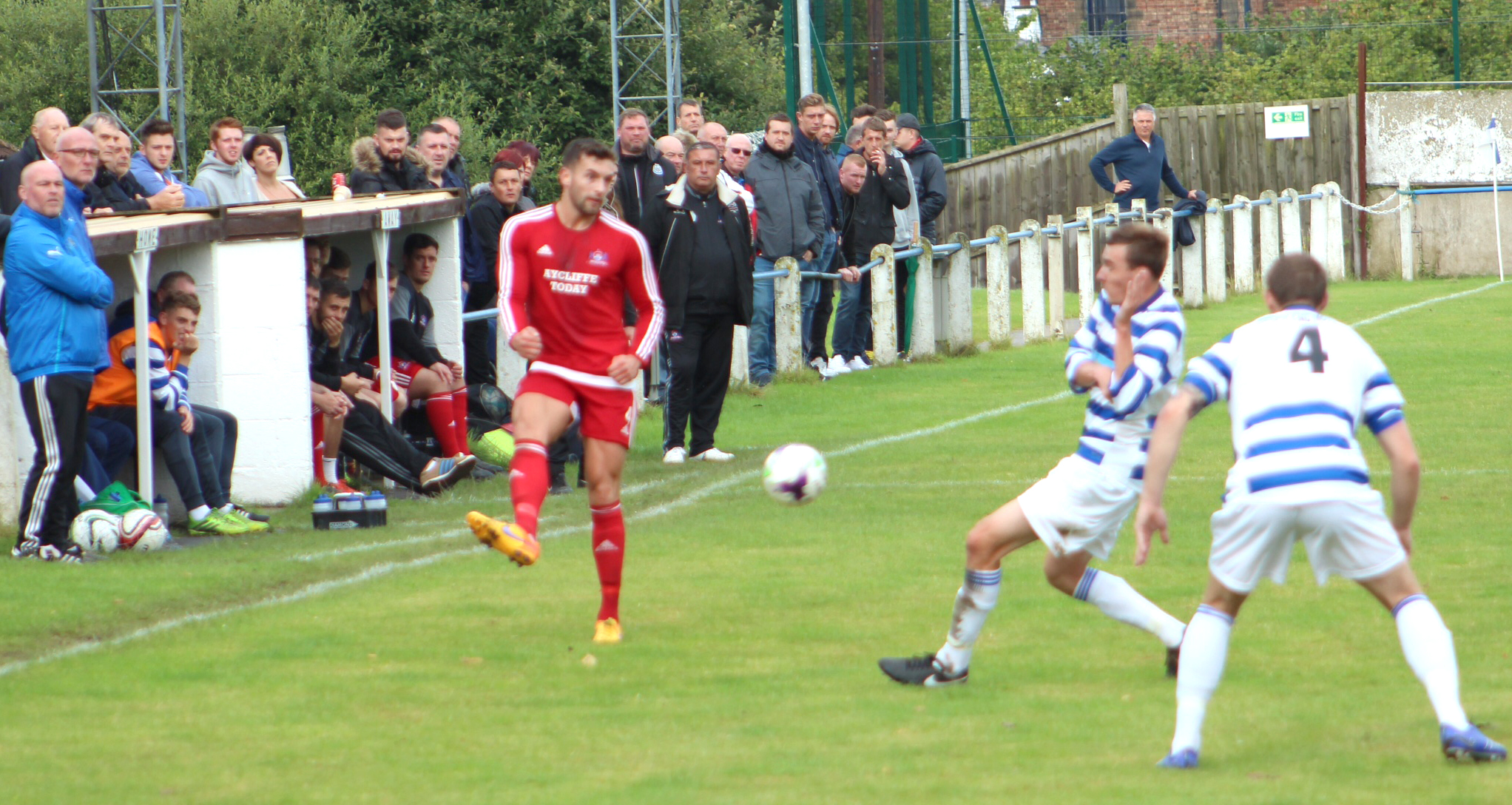 Aycliffe FC Draw with Chester-le-Street