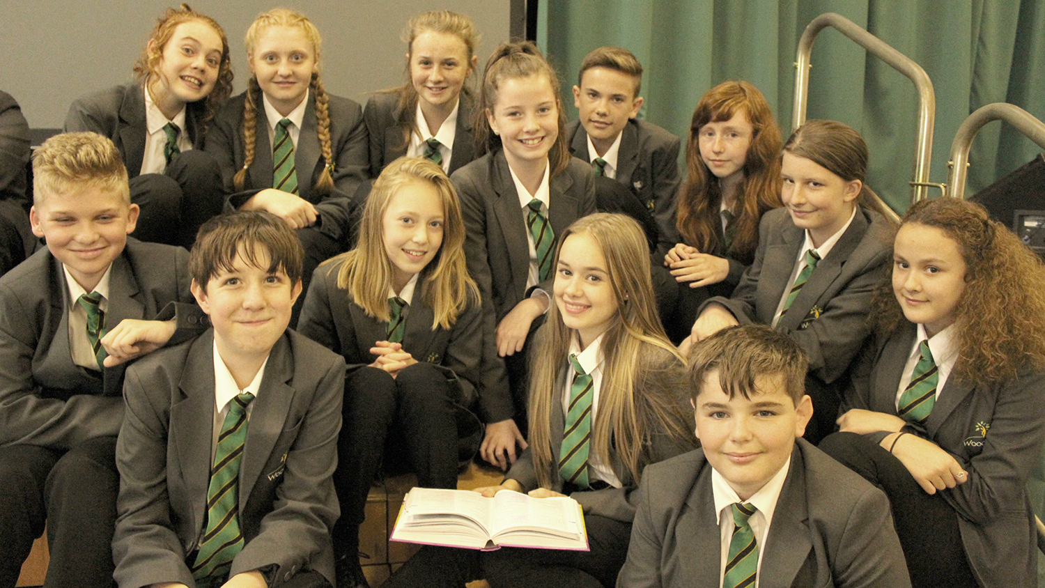 Woodham Students Feature in New Book