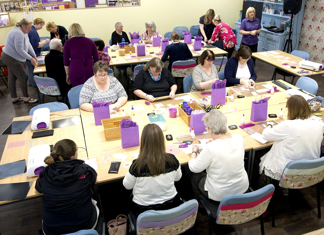 Craft, Coffee & Cake for Town Charity