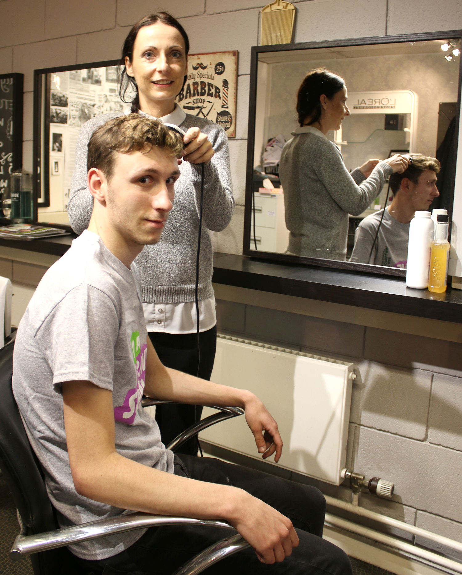 Braving The Shave