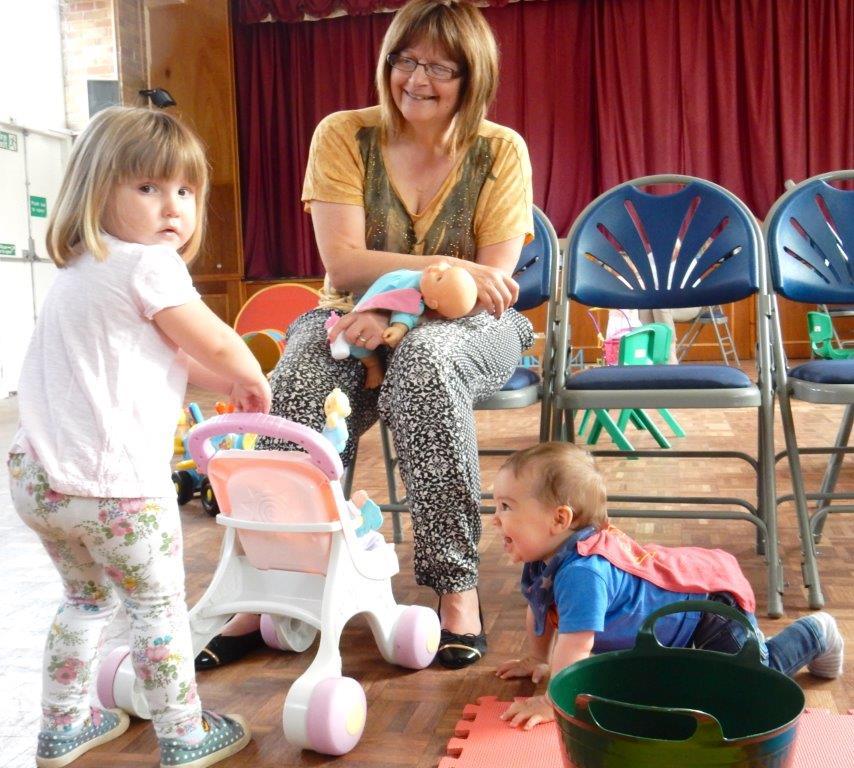 Toddler Group Restarts