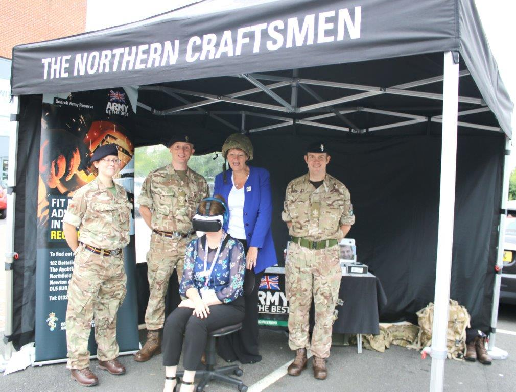 Aycliffe Army Reserves Day