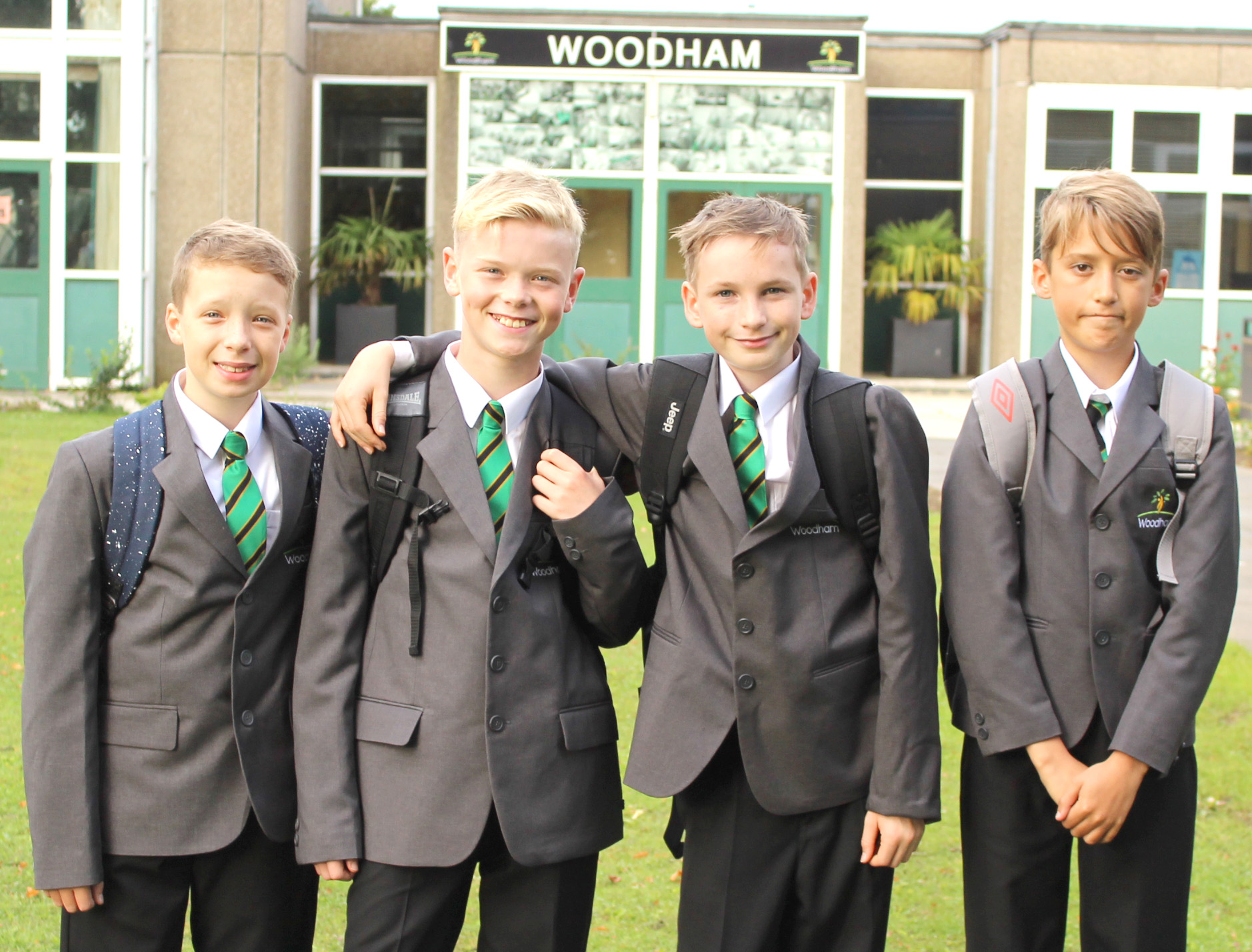 Woodham's New Intake