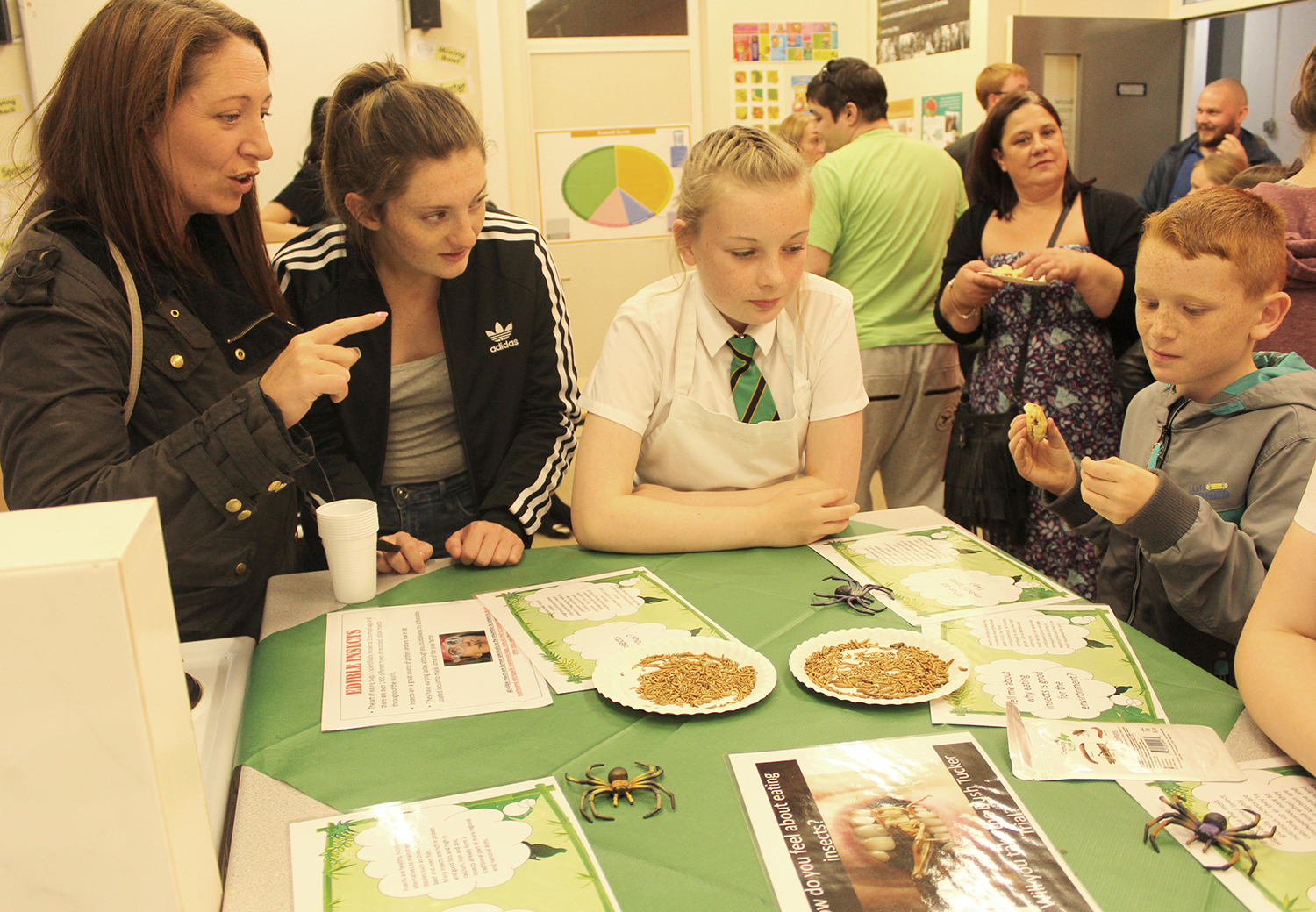 Woodham Academy Hold Open Evening