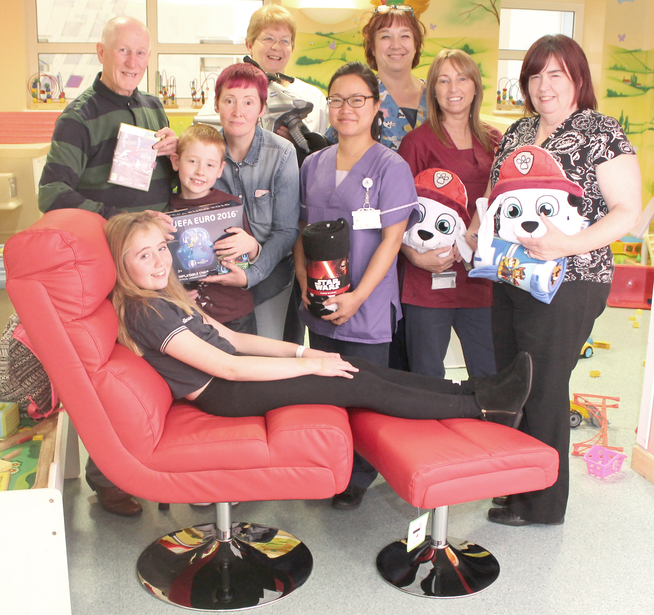 Aycliffe Family Helps 'CF' Children's Ward