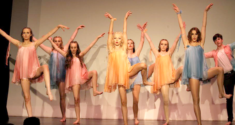 Greenfield College Dancers Reach for the Stars