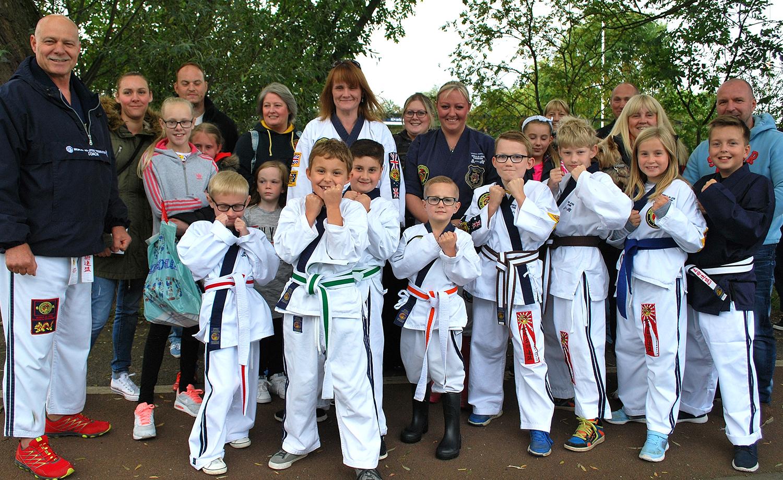International Ju-Jitsu  Instructors Visit Aycliffe