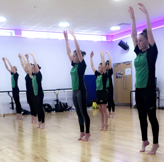 Woodham's Dance Link With QE College