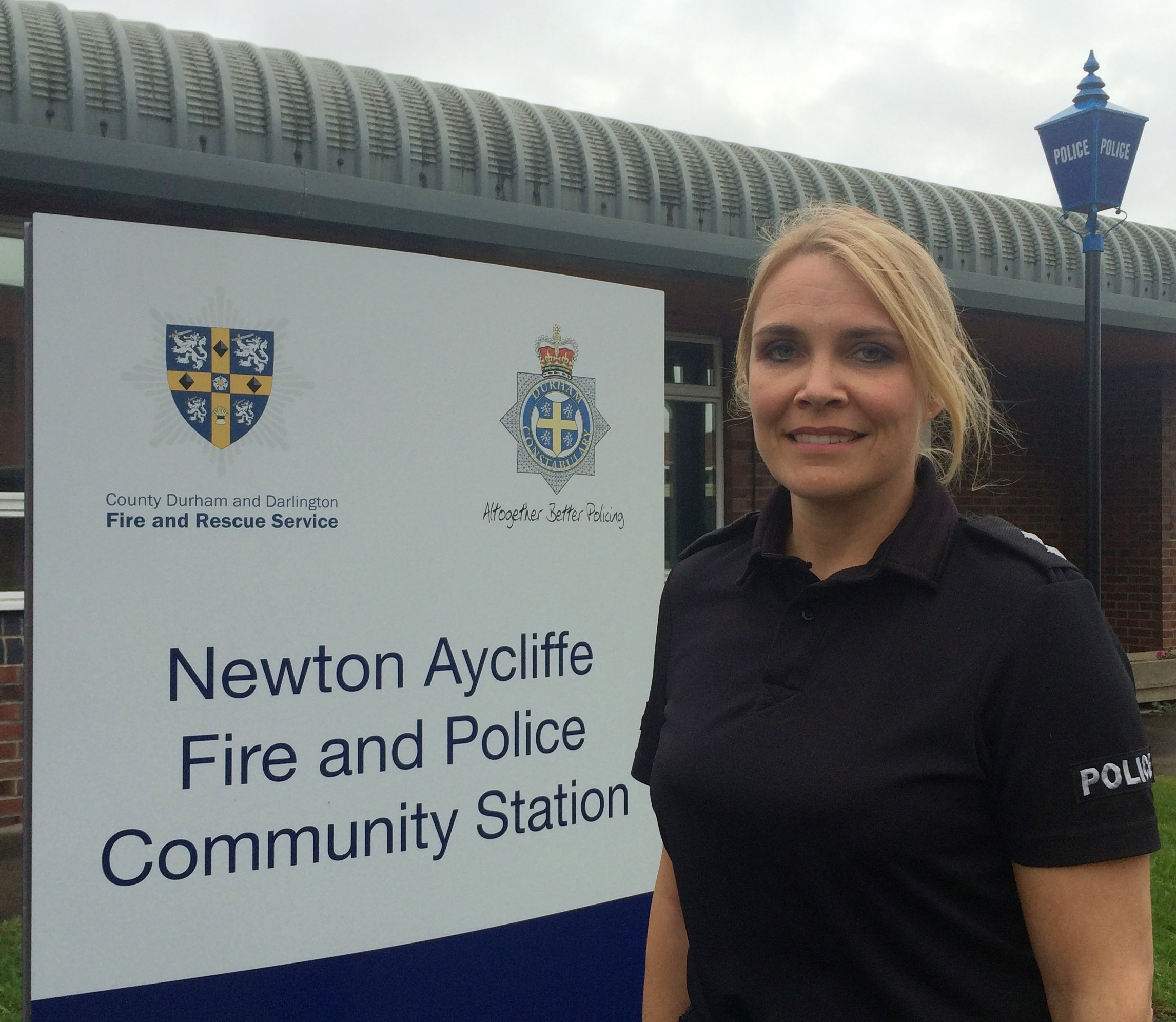 Newton Aycliffe has a New Neighbourhood Inspector