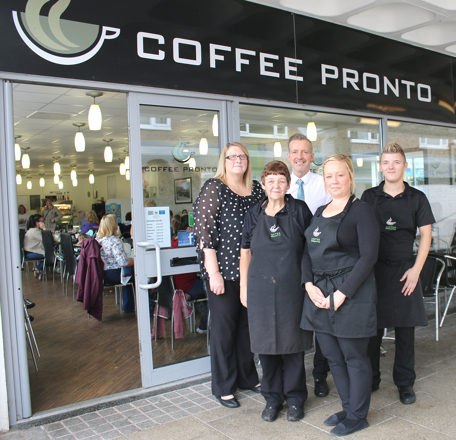Coffee Pronto's Special Service for Everyone