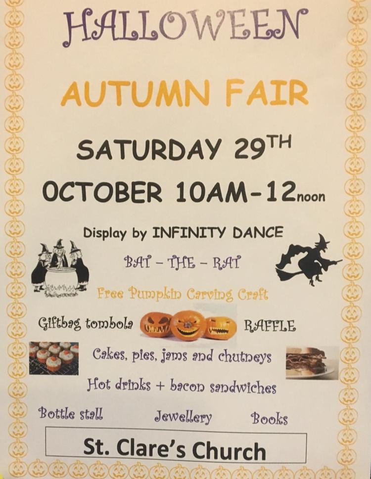 St Clare's Autumn Fair