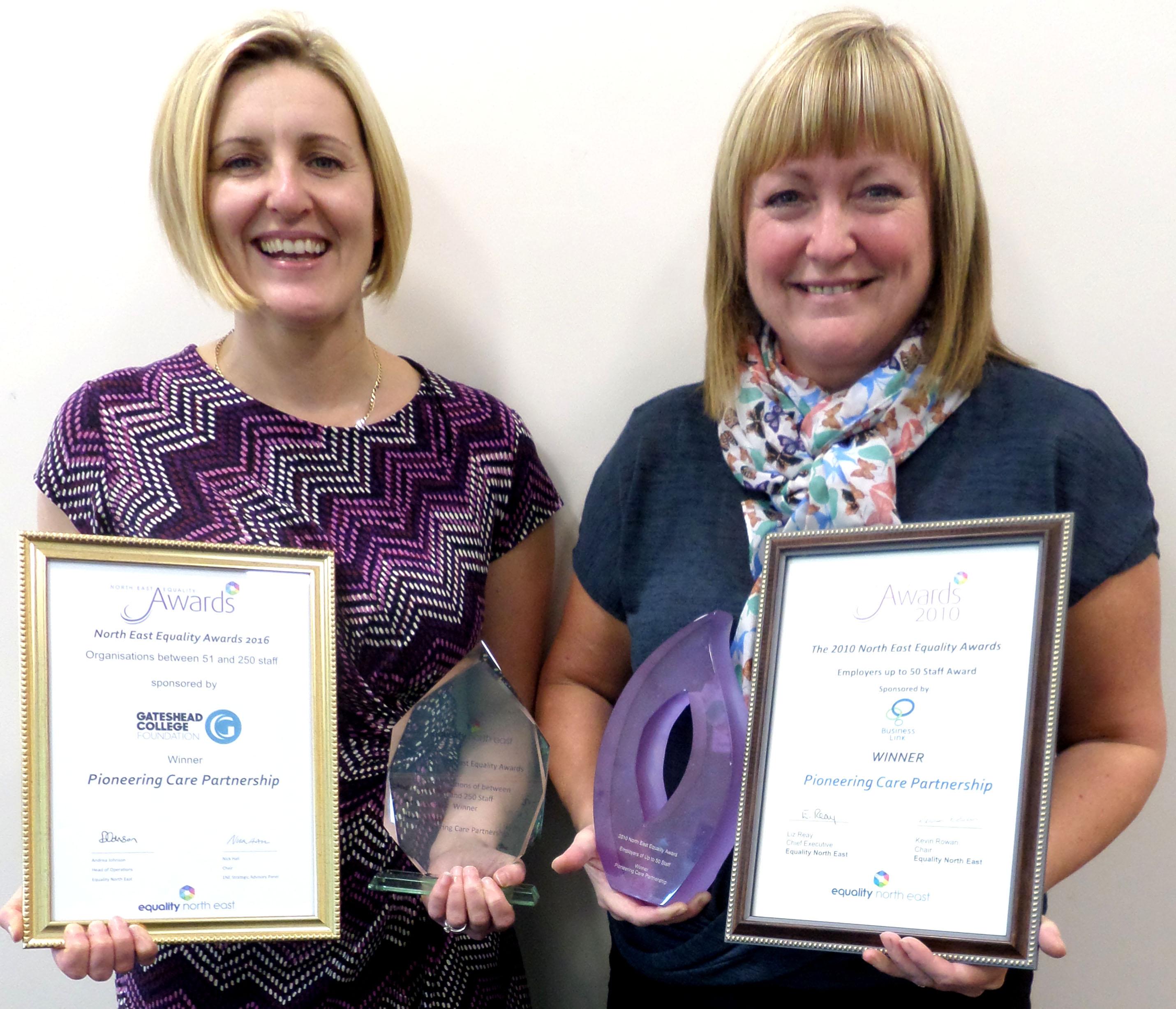 P.C.P. Equality Award Winners