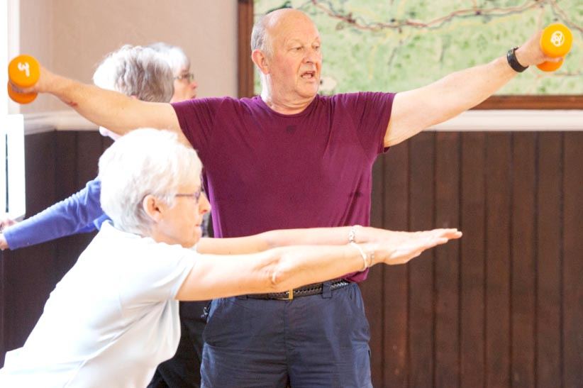 Over 50's Fitness & Toning