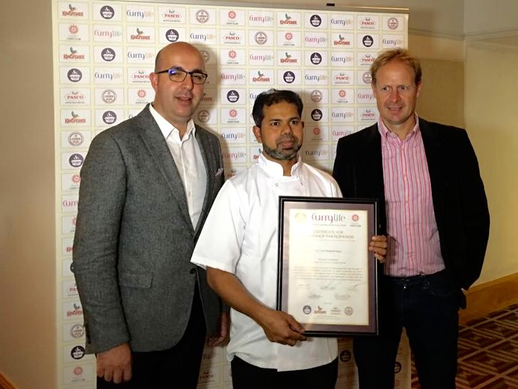 Aycliffe Chef in Final of  T.V. Competition
