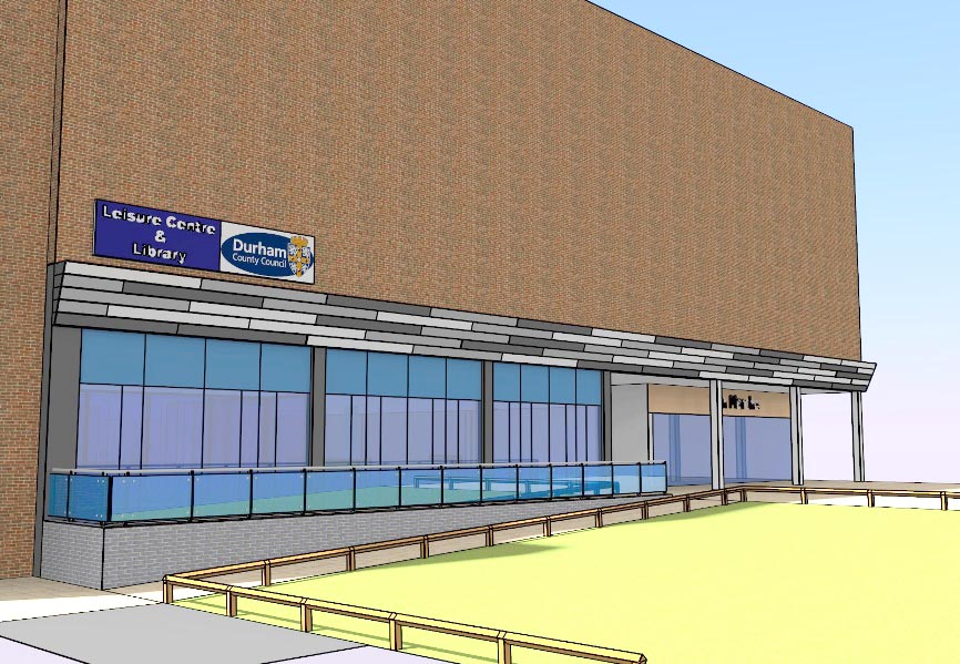 Newton Aycliffe Library & Leisure Centre Changes