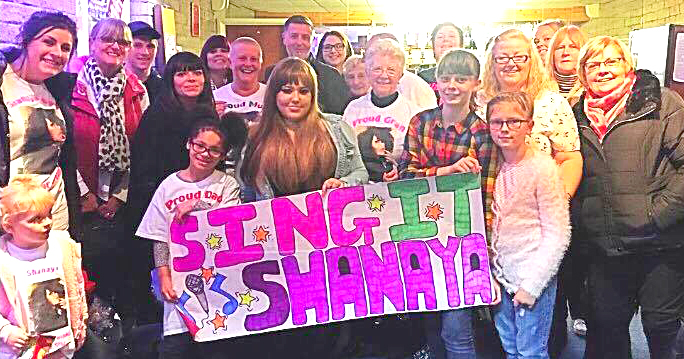 Aycliffe Teenager in UK Singing Contest