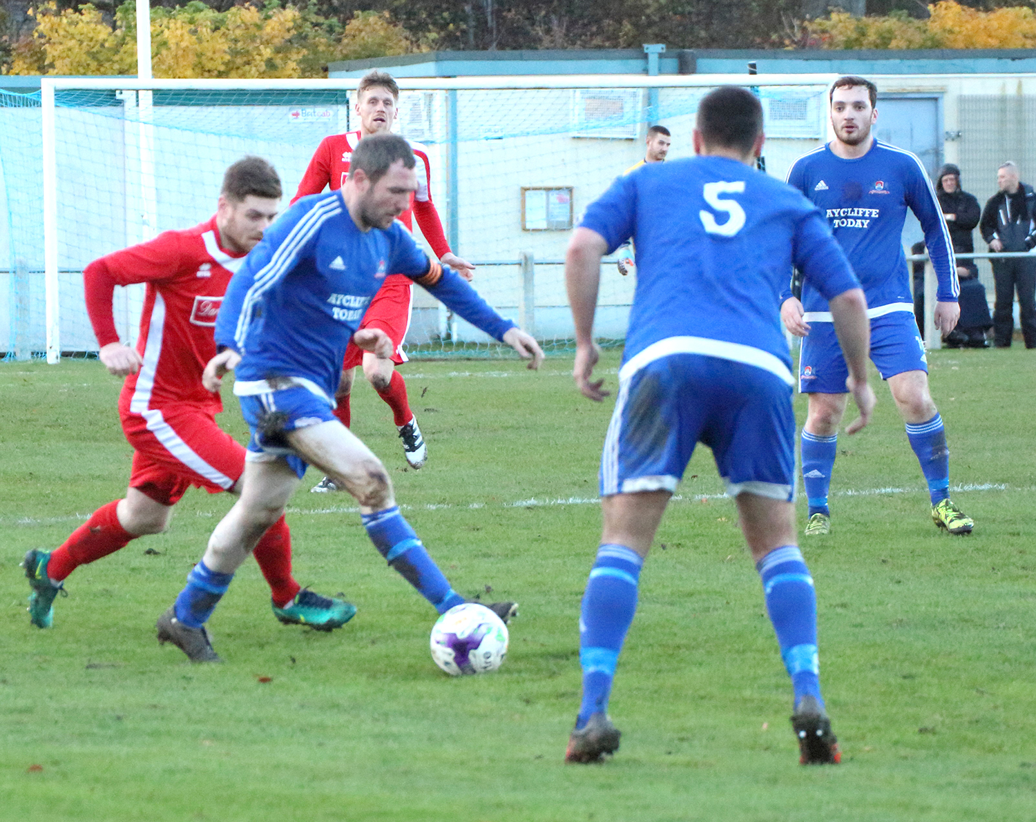 Aycliffe Lose Match to League Leaders