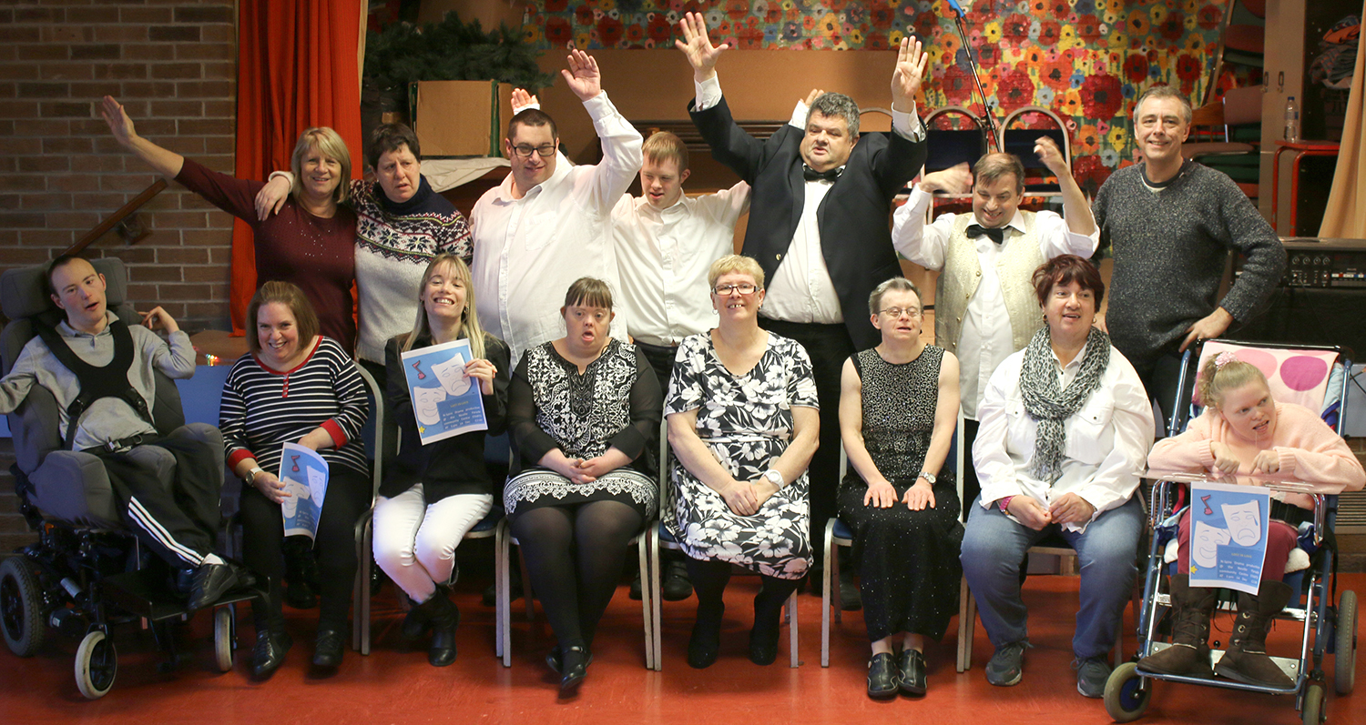 First Show by Drama Group for Disabled